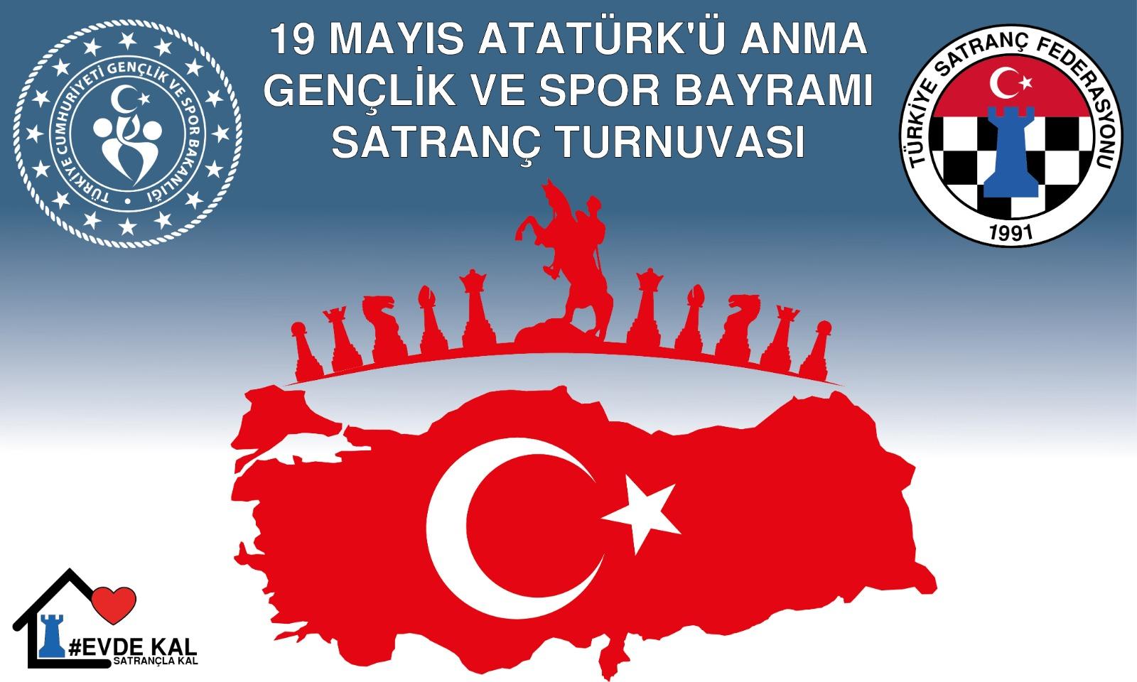 19 Mayıs Atatürk'ü Anma ve Gençlik Spor Bayramı Satranç Turnvası