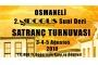 Osmaneli'de Ulusal Satranç Şöleni
